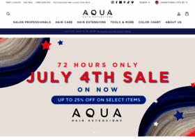 aquahairextensions.com