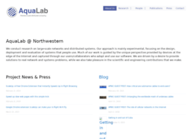 aqualab.cs.northwestern.edu