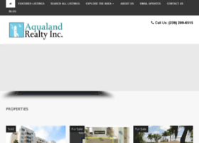 aqualandrealty.com