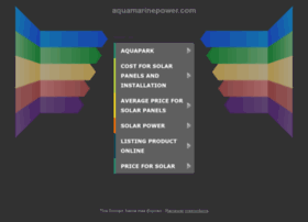 aquamarinepower.com