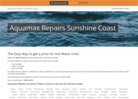 aquamaxrepairssunshinecoast.hot-water-systems.com.au