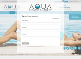 aquaplasticsurgery.com