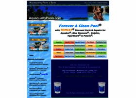 aquaqualitypools.com