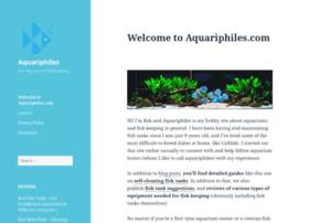 aquariphiles.com
