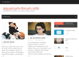 aquarium-forum.info