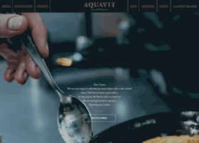 aquavitrestaurants.com