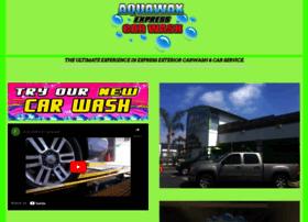 aquawaxcarwash.com