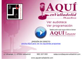 aquienvalladolidradio.com