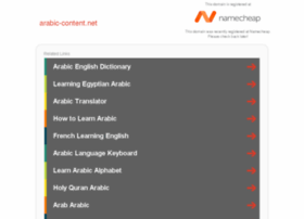 arabic-content.net