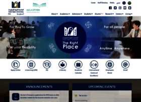 arabou.edu.sa