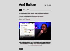 aralbalkan.com