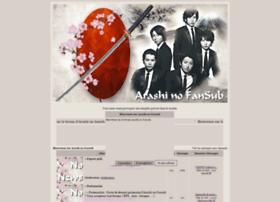 arashinofansub.forumactif.com