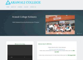 arawalicollege.com