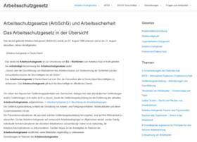 arbeitsschutzgesetze.com