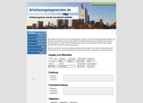 arbeitszeugnisgenerator.de