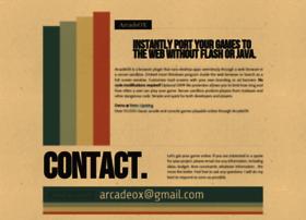 arcadeox.com