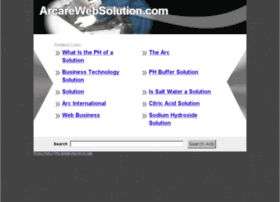 arcarewebsolution.com
