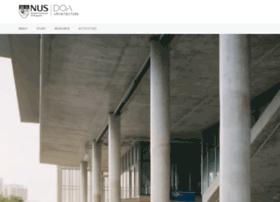 arch.nus.edu.sg