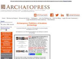 archaeopress.com