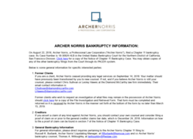 archernorris.com