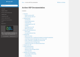 arches-hip.readthedocs.org