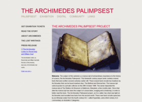 archimedespalimpsest.org
