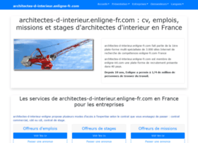 architectes-d-interieur.enligne-fr.com
