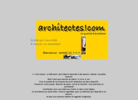 architectes.com