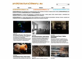 architecturaltheory.eu