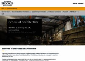 architecture.brookes.ac.uk