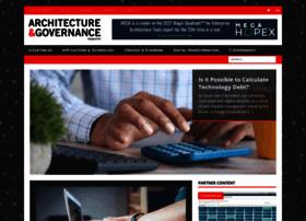 architectureandgovernance.com