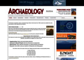 archive.archaeology.org