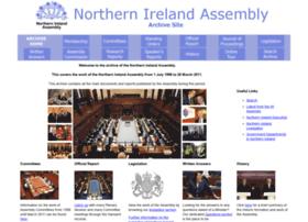 archive.niassembly.gov.uk