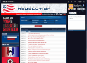 archive.revolutionsoccer.net