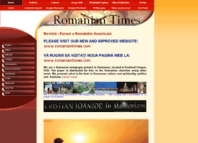 archive.romaniantimes.com