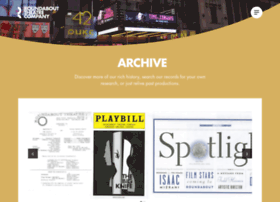 archive.roundabouttheatre.org