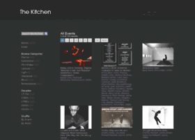archive.thekitchen.org