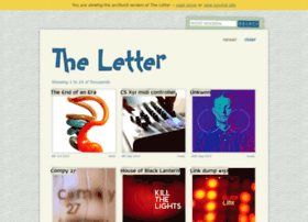 archive.theletter.co.uk