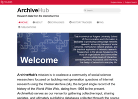 archivehub.rutgers.edu