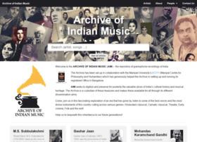 archiveofindianmusic.org