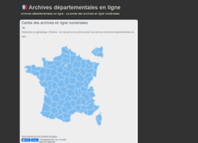 archives-departementales.com