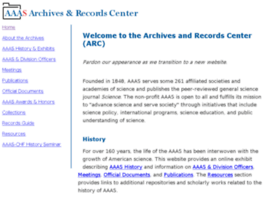archives.aaas.org