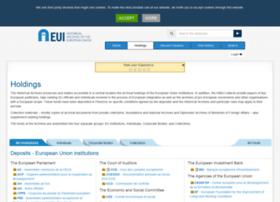 archives.eui.eu