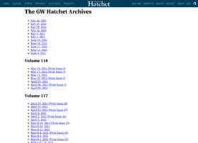 archives.gwhatchet.com