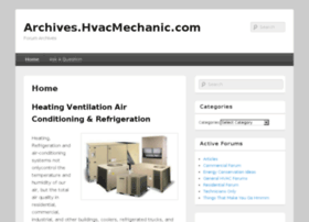 archives.hvacmechanic.com