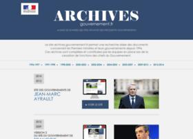 archives.premier-ministre.gouv.fr