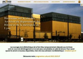 archives.rhone.fr