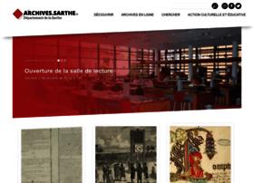 archives.sarthe.com