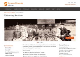 archives.syr.edu