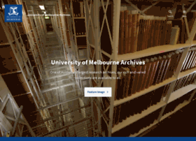 archives.unimelb.edu.au
